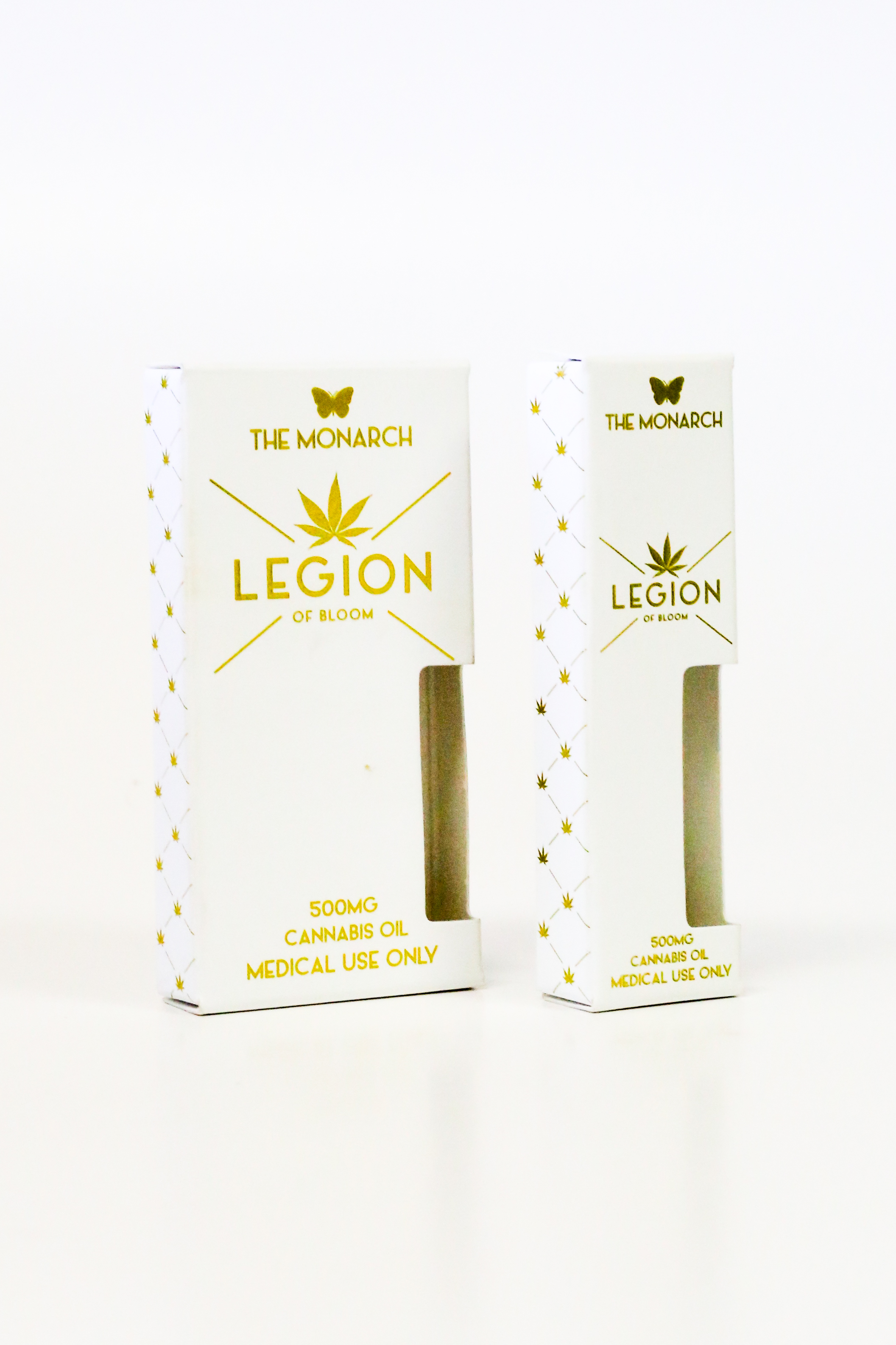 The Monarch Legion of Bloom Vaporizer Cannabis Packaging