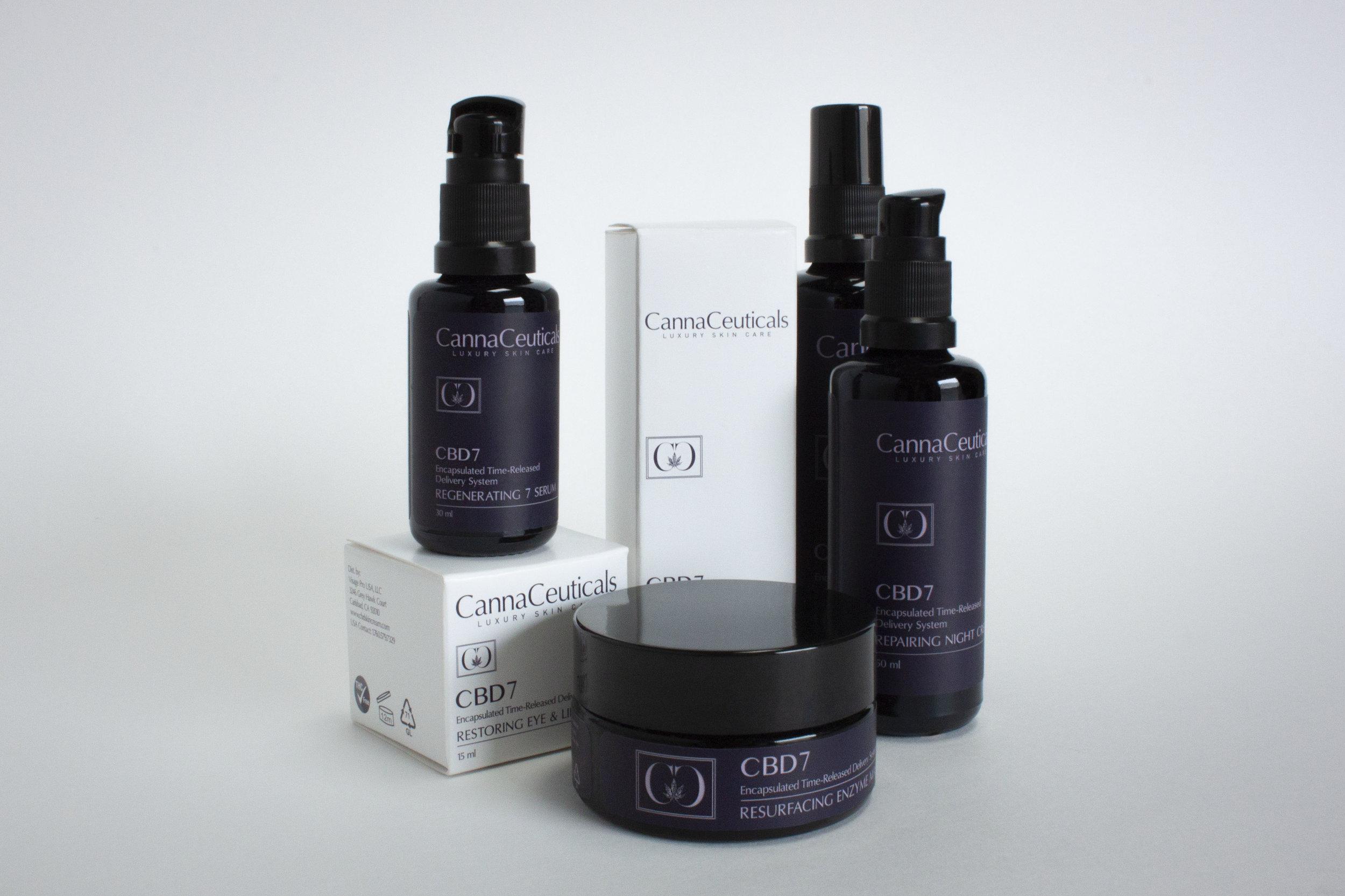 Skin Care CBD Packaging