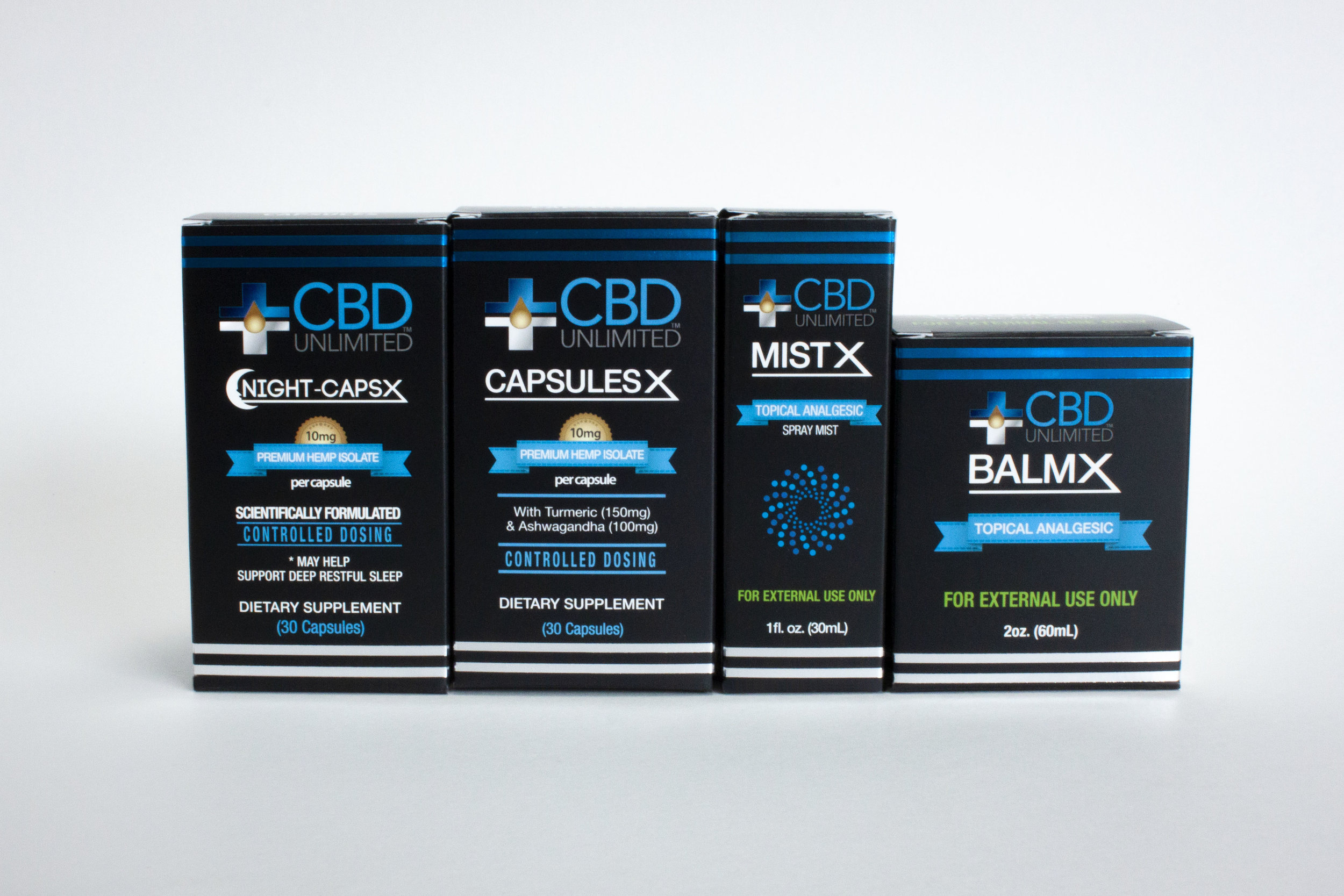 CBD Unlimited Packaging