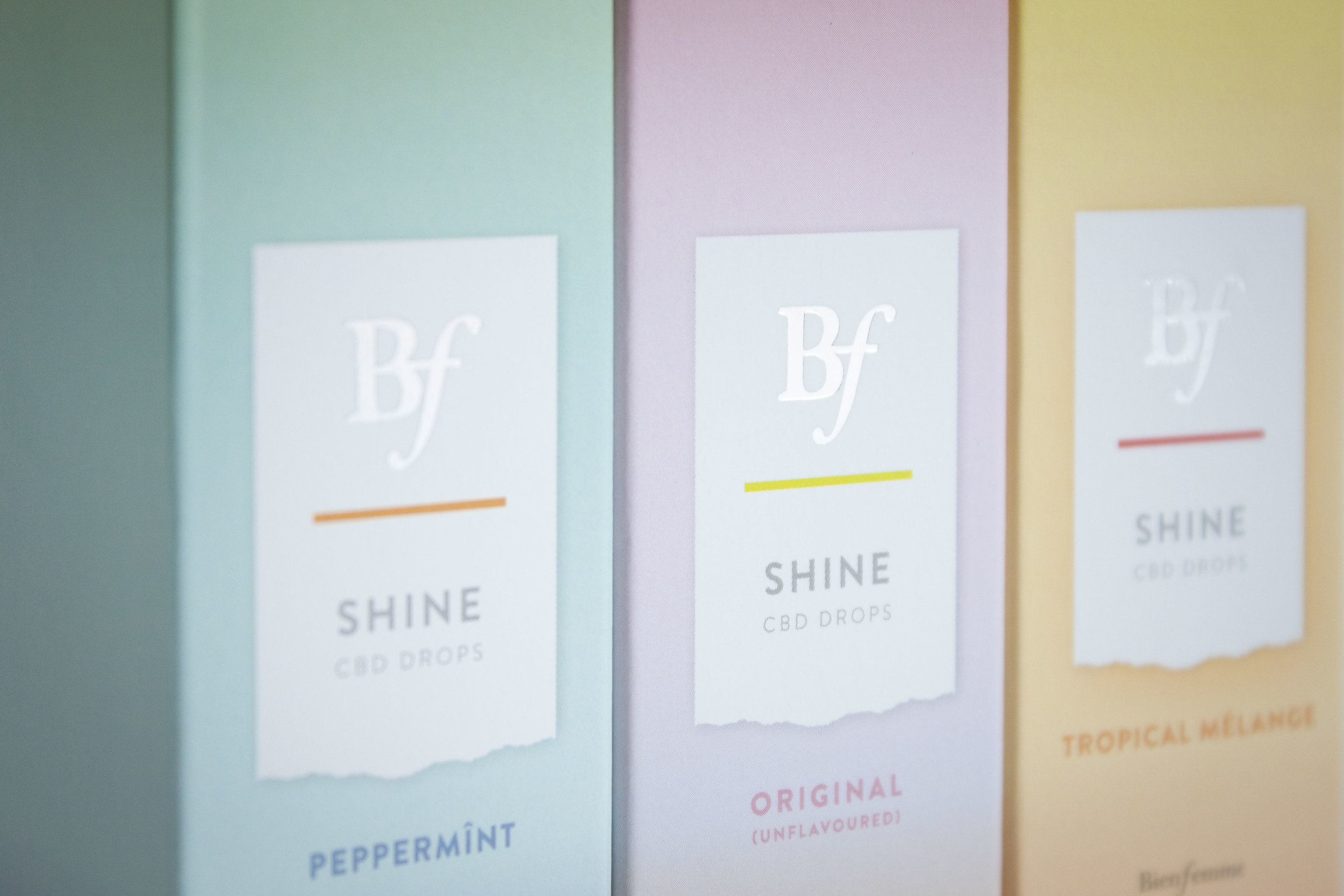 Bien Femme Shine Packaging