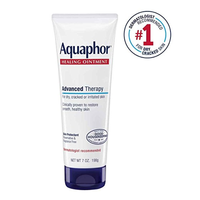 $9. Learn more about Aquaphor  here.