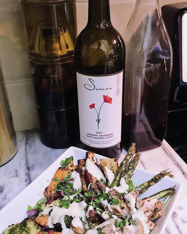 Last nights #winewednesday 🍷 . . . . . . . #seinnawine#seinna#wine#winelover #winesisters #vineyard #photography #vines #winewednesday #santabarbaracountywine #happyhumpday#findthepoppy #wineandfood #instawine