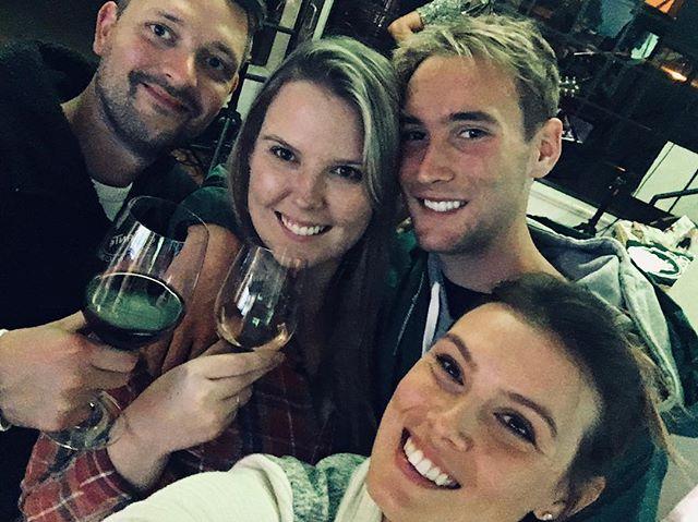 a family full of winos #drinkseinna . . . . . . . . . .  #seinnawine#seinna#wine#winelovers #winesisters #vines #santabarbaracountywine #sbc #solvang #familygoals #winefamily