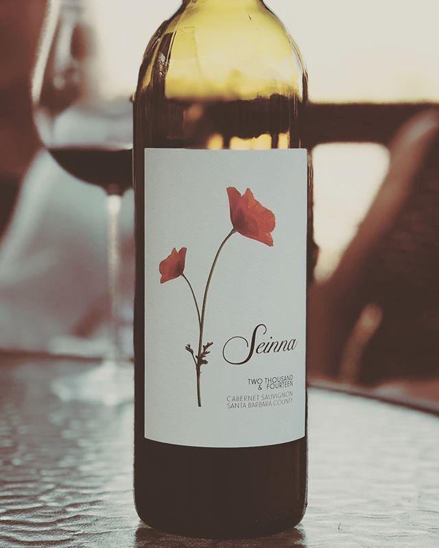 Seinna Sundaze #drinkseinna . . . . . . . . . . . . . . . . #seinnawinr #sunnysunday#winefamily #sbcounty#sbcwine#cabernetsauvignon#cabsauv#family #wine #wineday