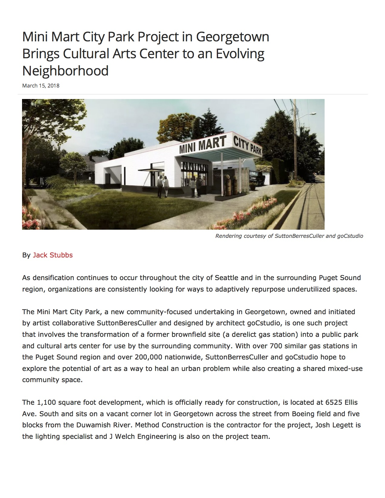 Mini Mart City Park Project in Georgetown Brings Cultural Arts Center to an Evolving Neighborhood - The Registry pg1.jpg