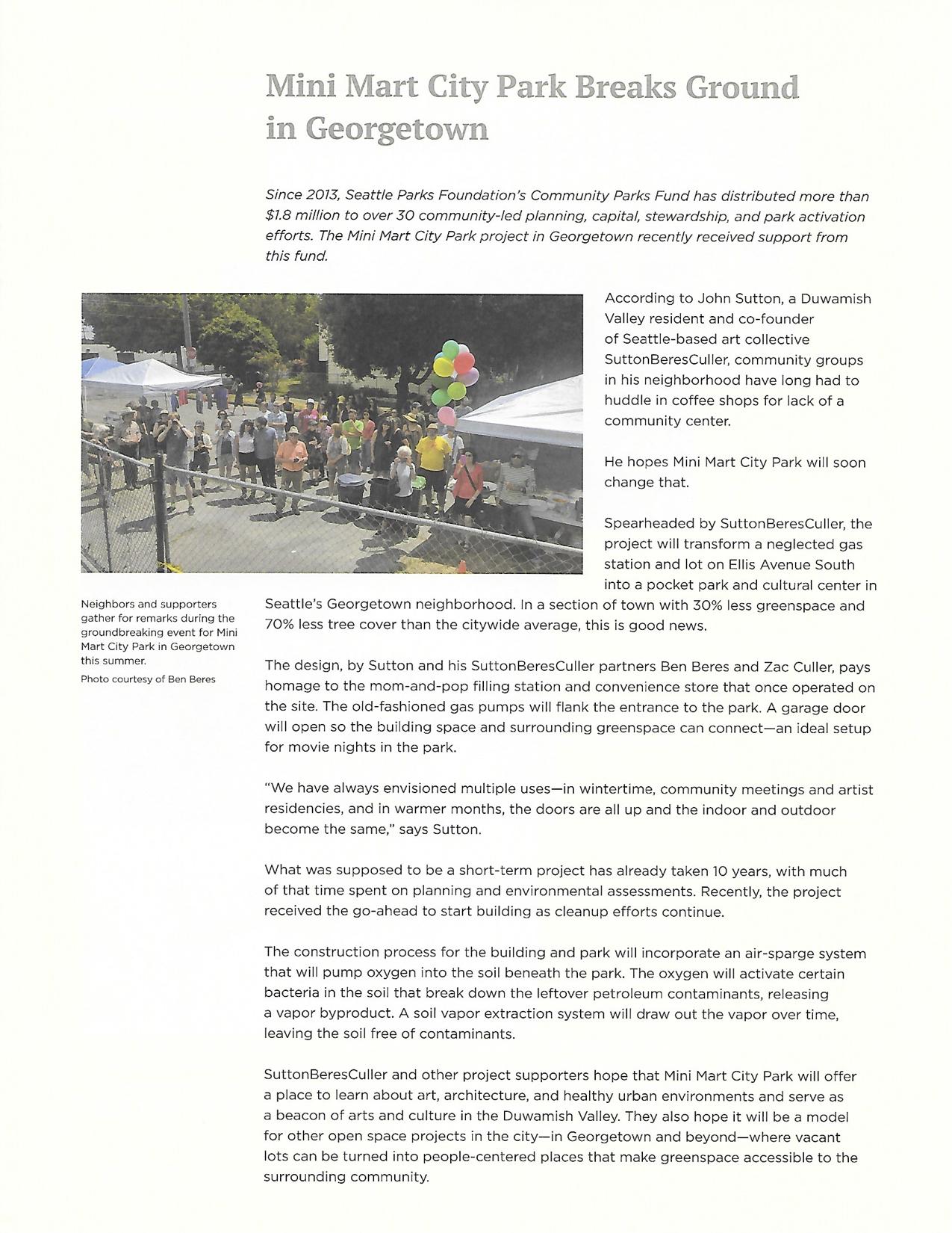 Seattle Pars Foundation Newsletter.jpg
