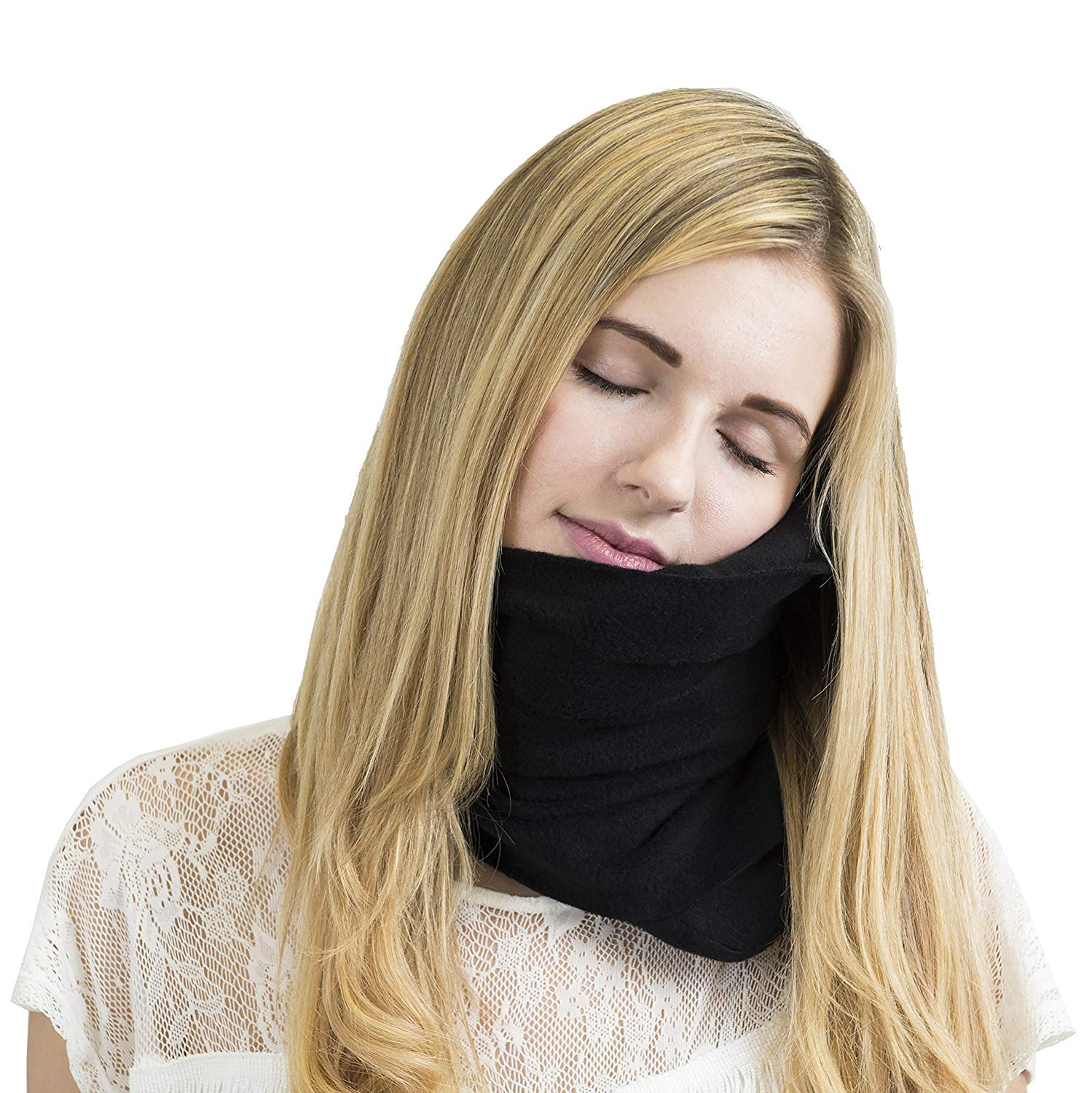 Trtl Neck Support Travel Pillow  ($30) — I know it looks horrifyingly dorky, but hear me out. This neck pillow is the only way I can sleep on flights, especially if stuck with a middle seat. I might look like a hospital patient, but at least I can nap! (It's machine washable, too.)