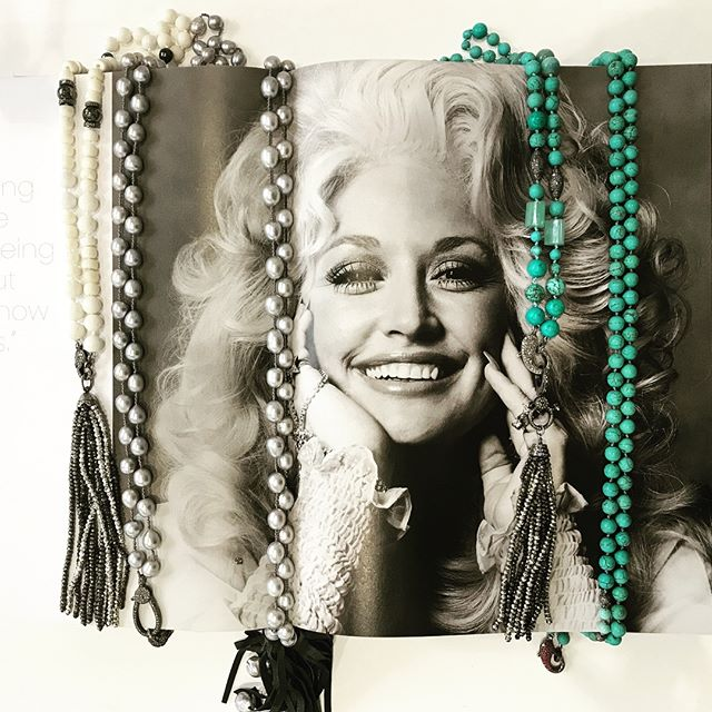 Dolly Parton gets it... . . . . #finejewelry #sterlingsilver #turquoise #andrewharperjewelry #wiw #giftsforher #houston #birmingham
