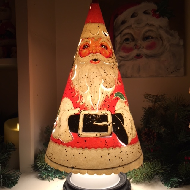 1951 Econolite Santa Lamp, private collection, purchased from Candy Barnard