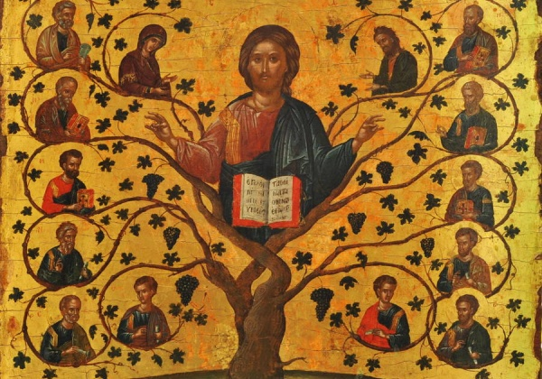 """I am the vine, you are the branches."""