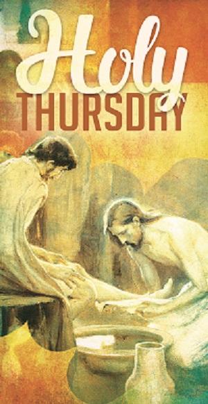 Holy Thursday - washing of feet