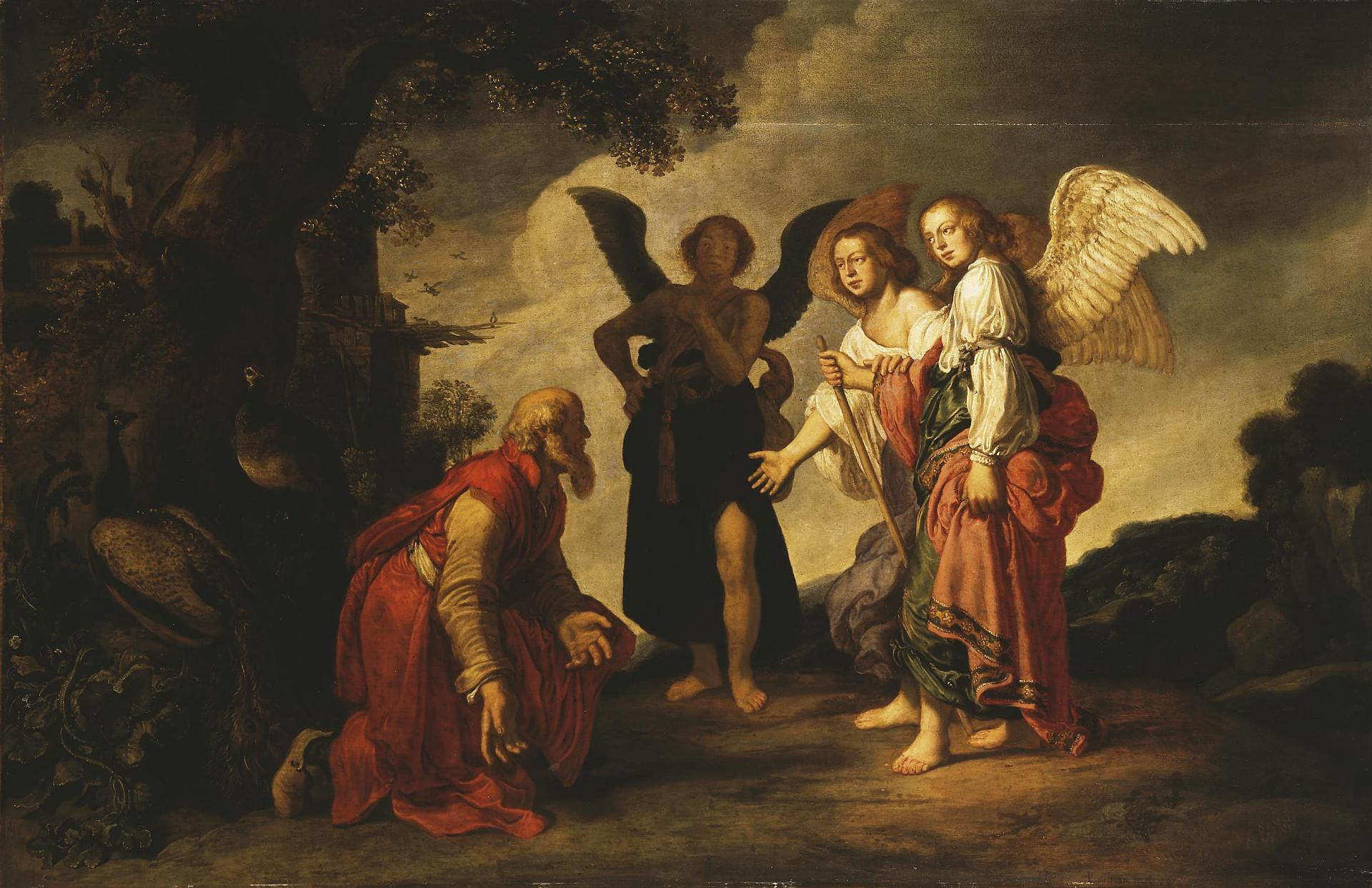 """Abraham and the Three Angels"", Pieter Lastman, 1624"