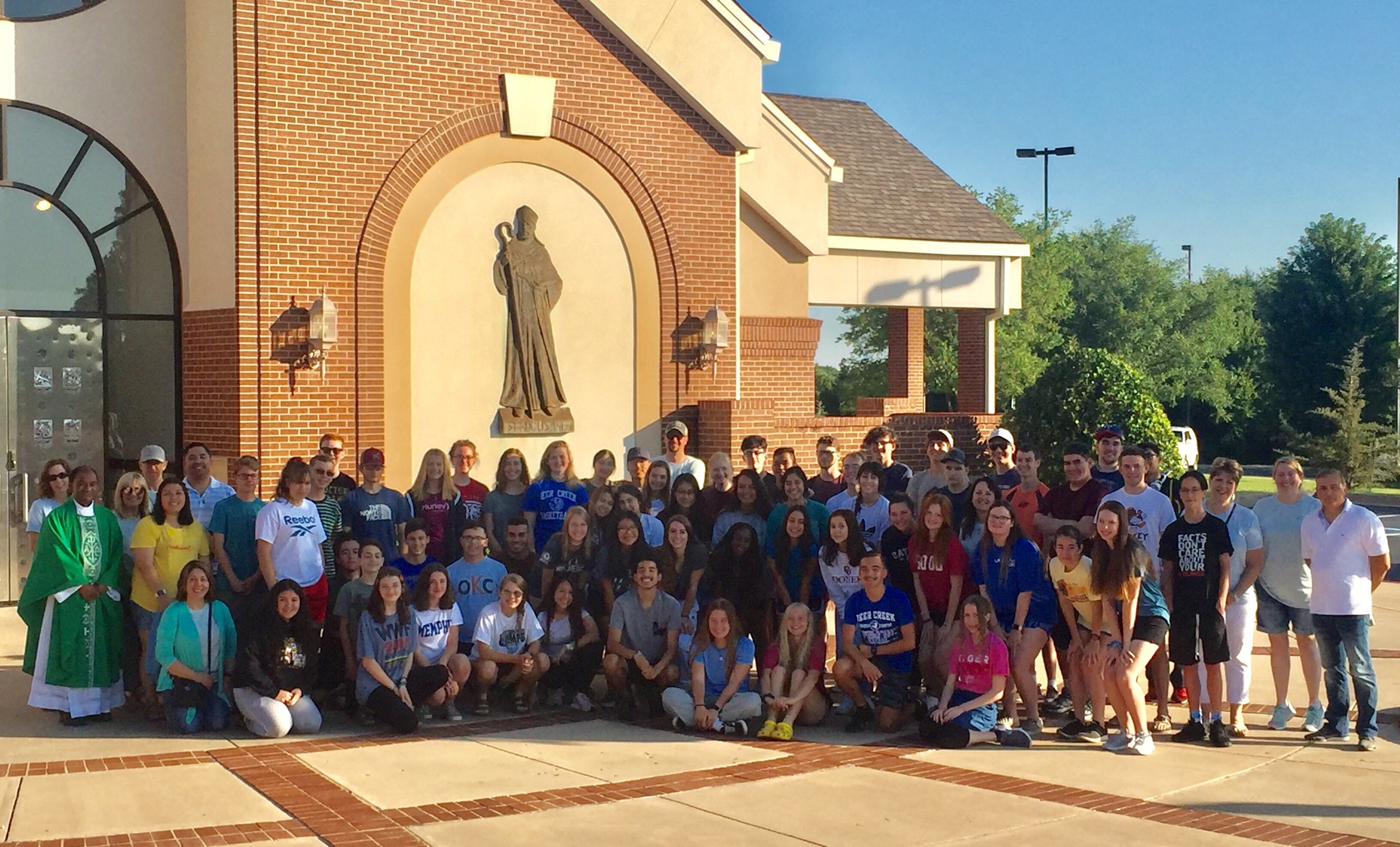 St. Monica Teens attended the Steubenville Youth Conference in 2019