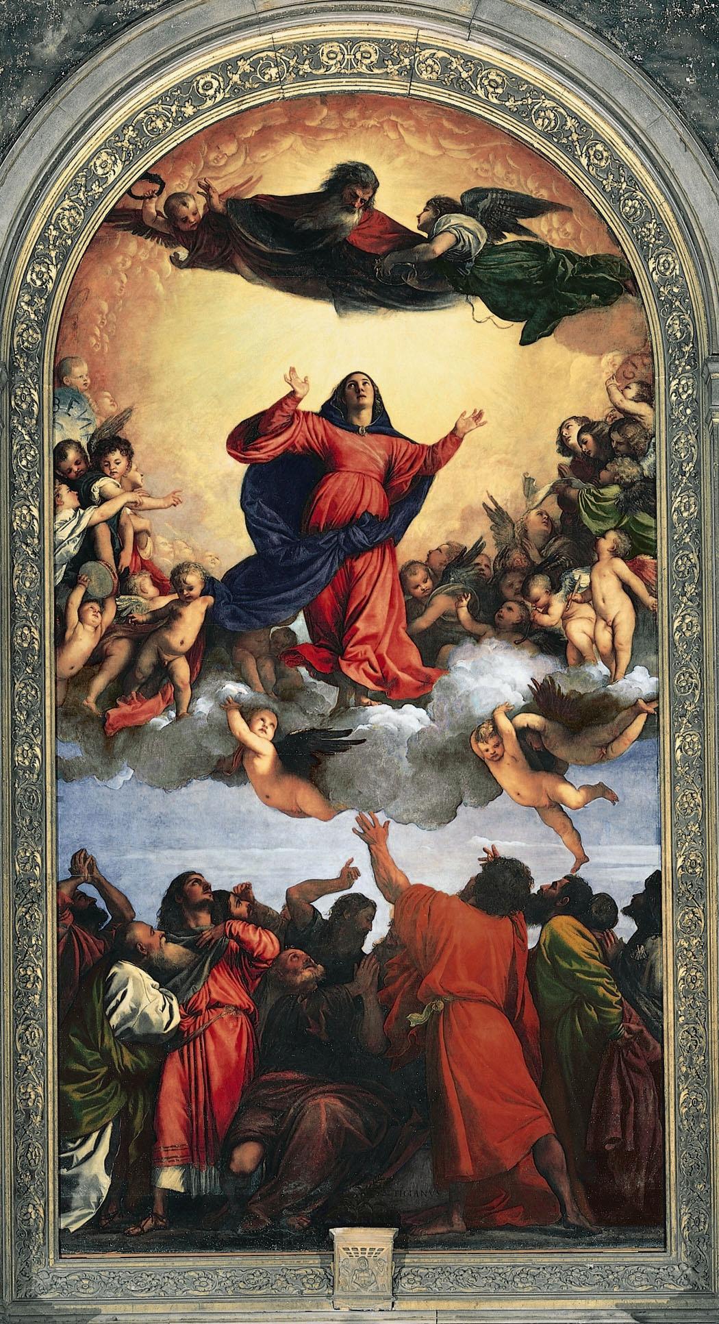 Assumption, Titian (1516–1518)