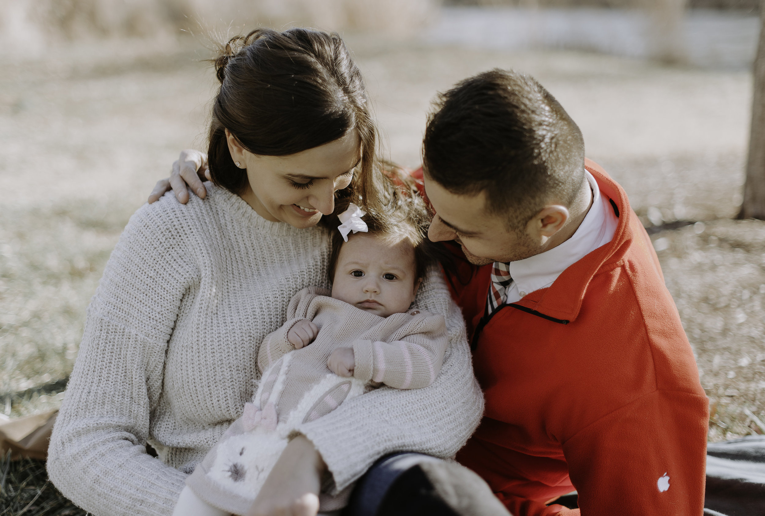 """Softic family - """"We seriously can't thank you enough for our wonderful family photos. It was such a nice experience. Thank you for making us feel comfortable and accommodating to our babies needs. One of the best photographers we have worked with! If anybody needs family photos done, I highly recommend OV Photography."""""""