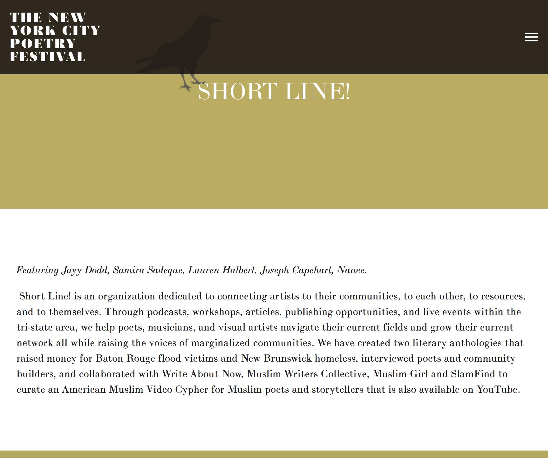 shortline_NYC Poetry Festival Samira Sadeque.png