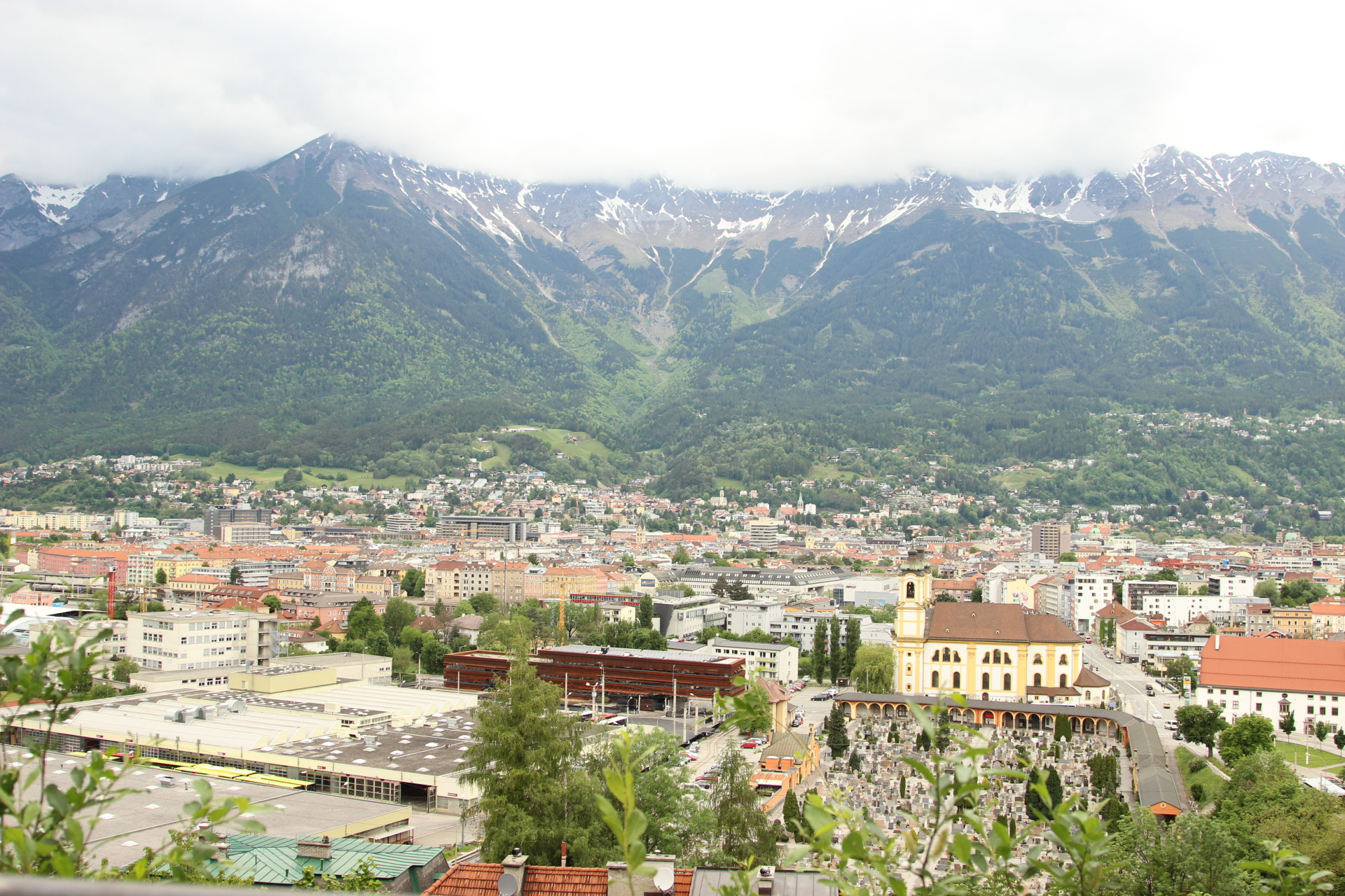 View of Innsbruck from Ambras Castle