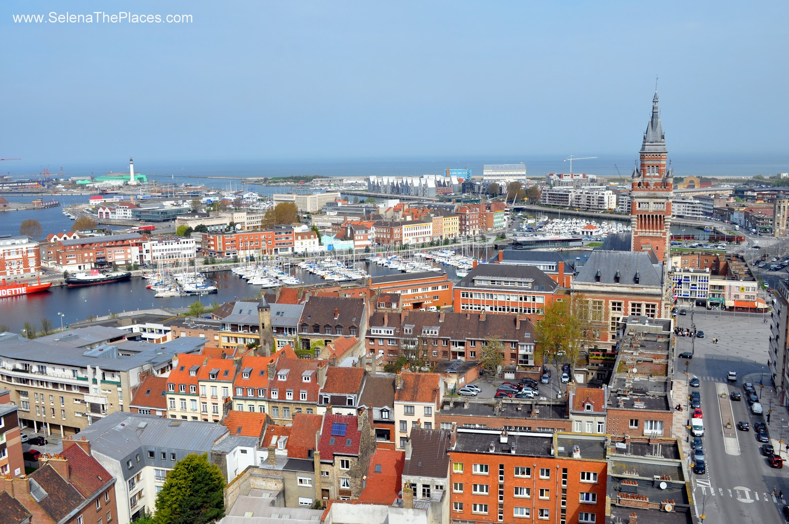 The Port City of Dunkirk. Image Via SelenaThePlaces.Com (2014)
