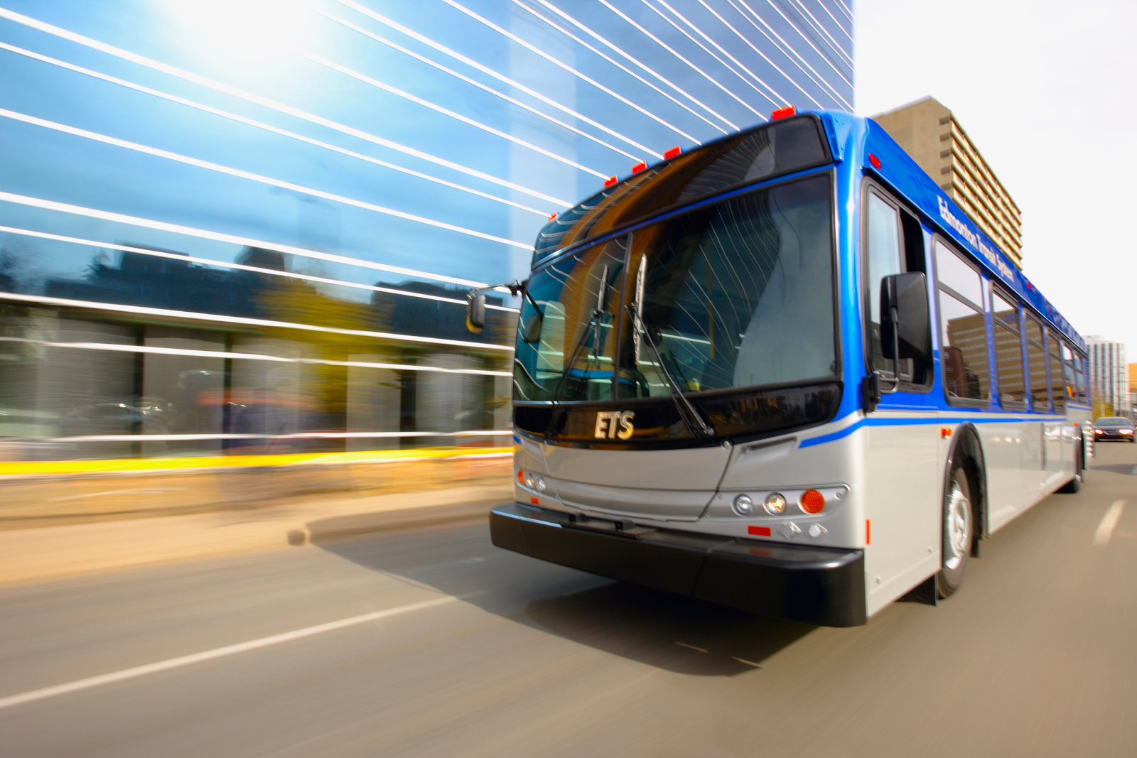 """Figure 2.  Bussing as a viable option in Edmonton.  Source: City of Edmonton """"Bus Rapid Transit and Modal Integration"""""""
