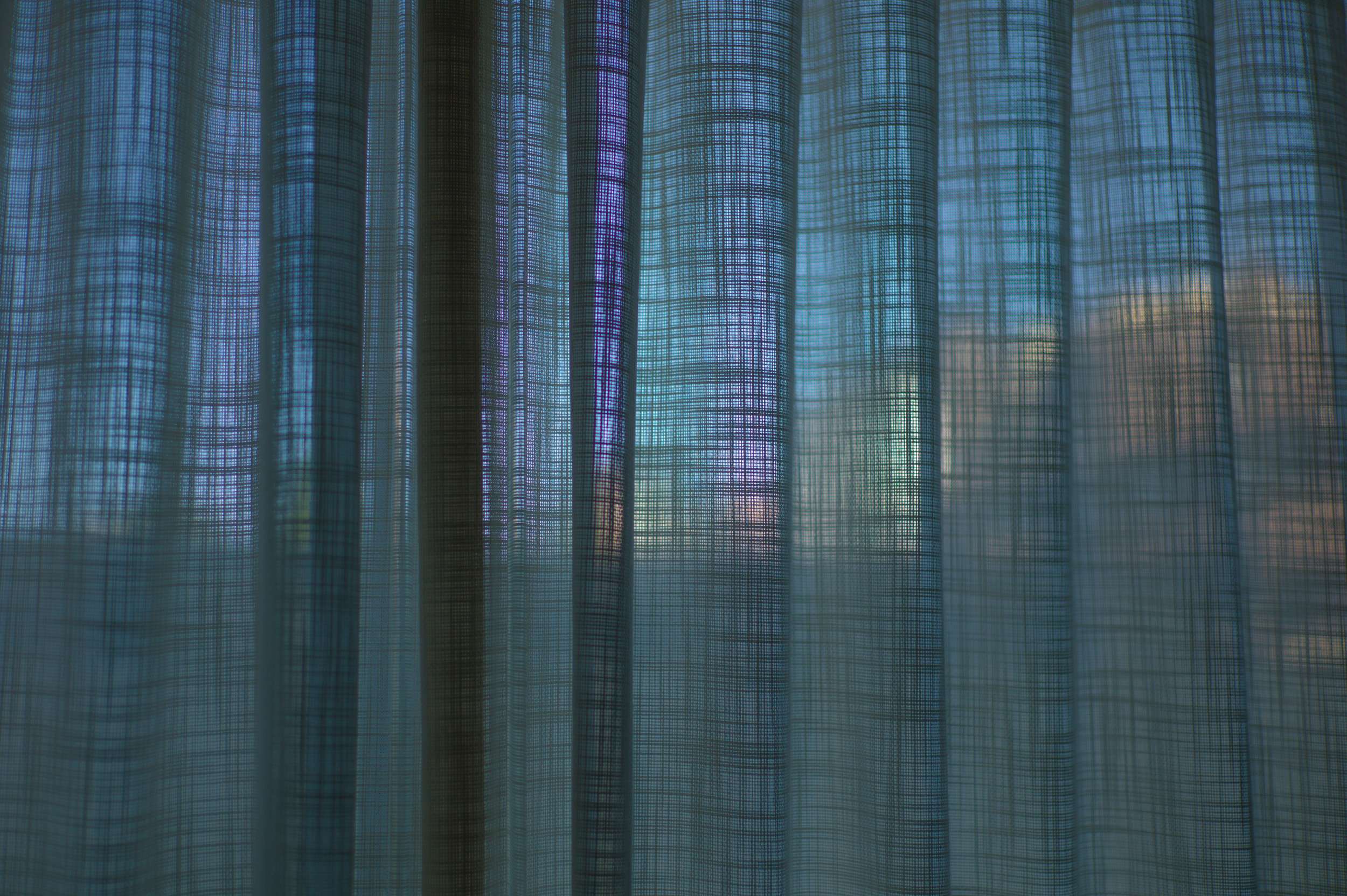 Cityscape through Fabric, 1