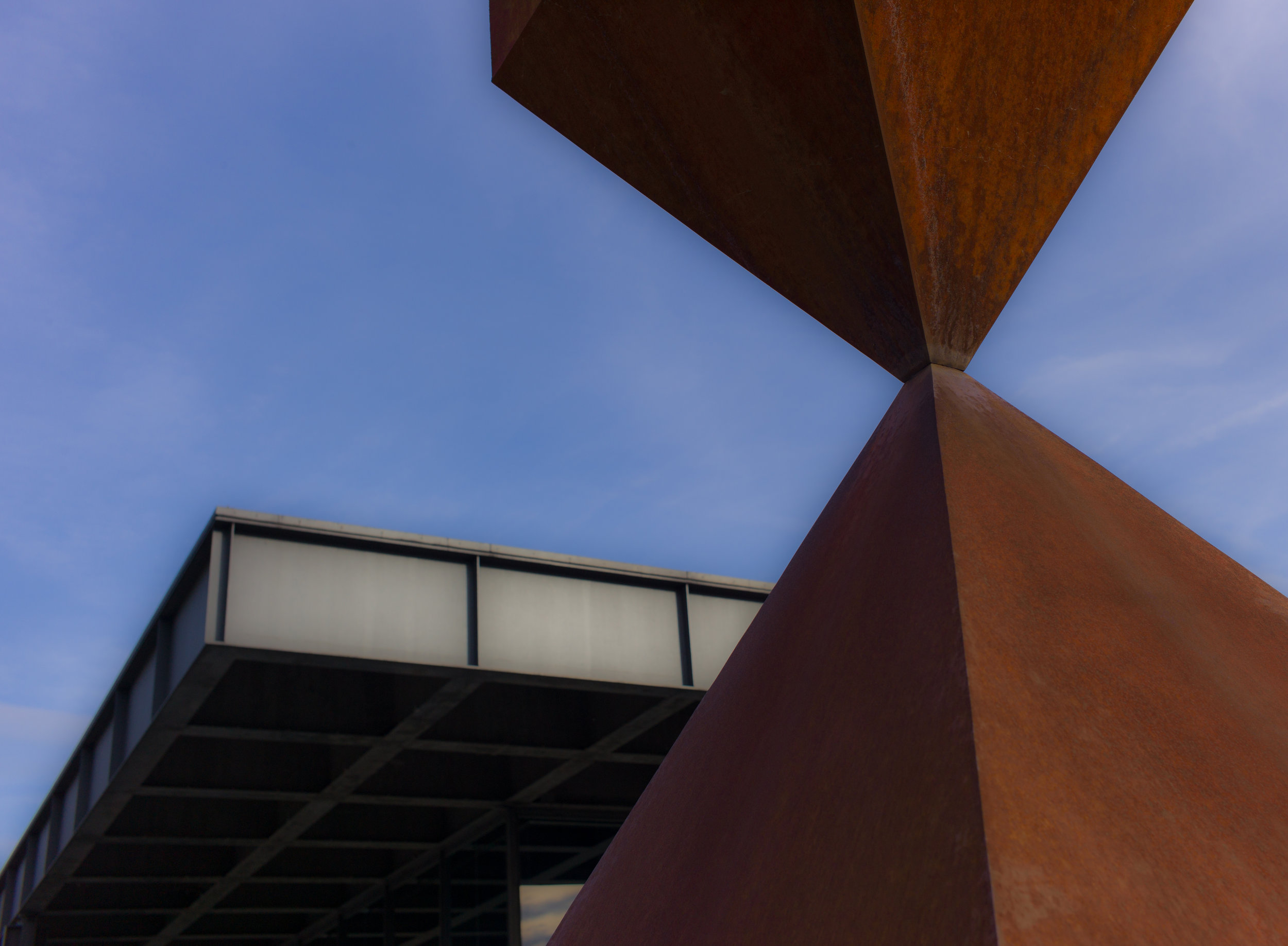 Sculpture 2, Neue Nationalgalerie