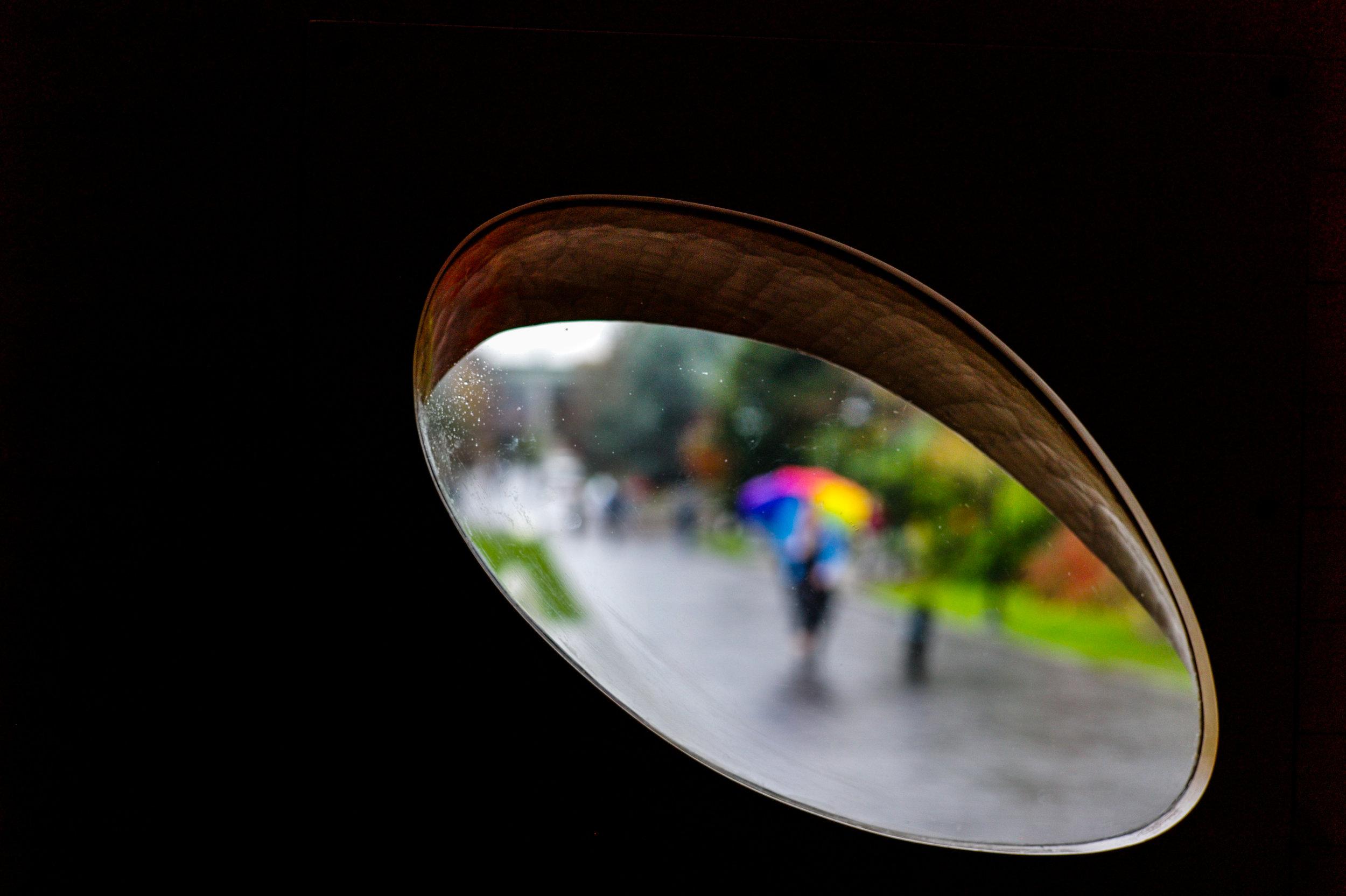 Through Steven Holl's Window