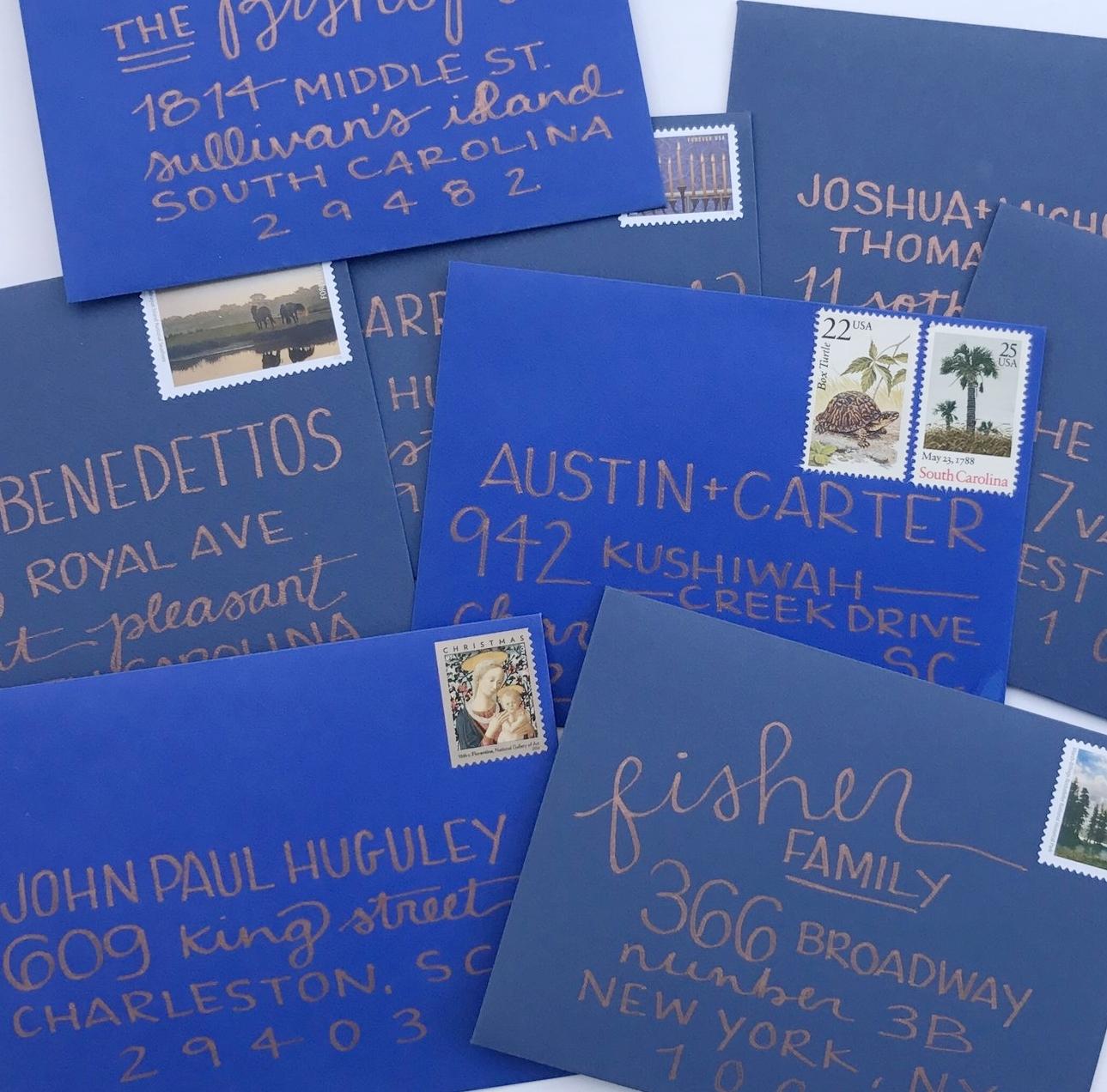 Blues + Copper Envelopes. jpg.jpg