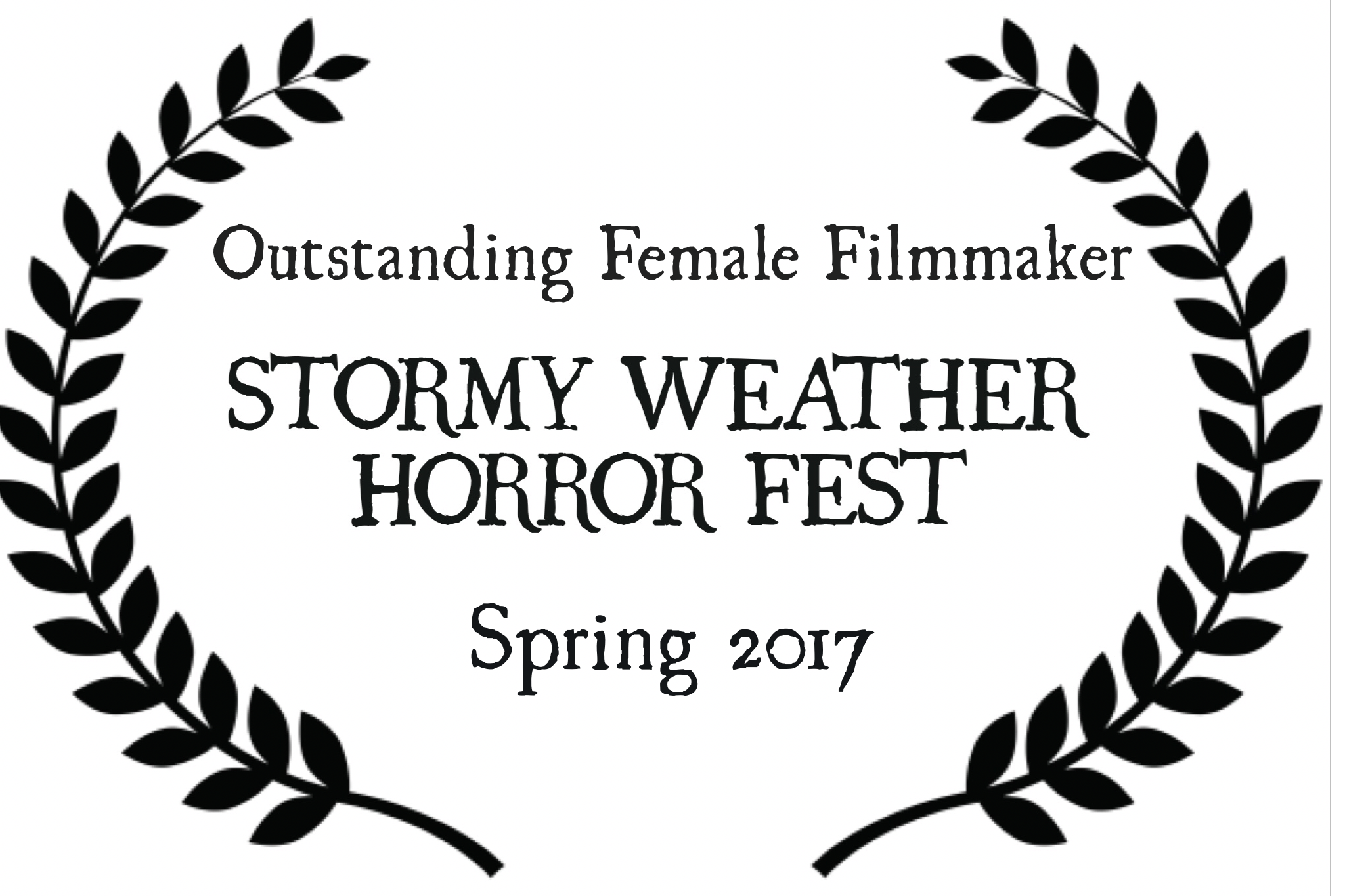 stormy weather horror fest 2017 spring outstanding female filmmaker nominee the honey jar.PNG
