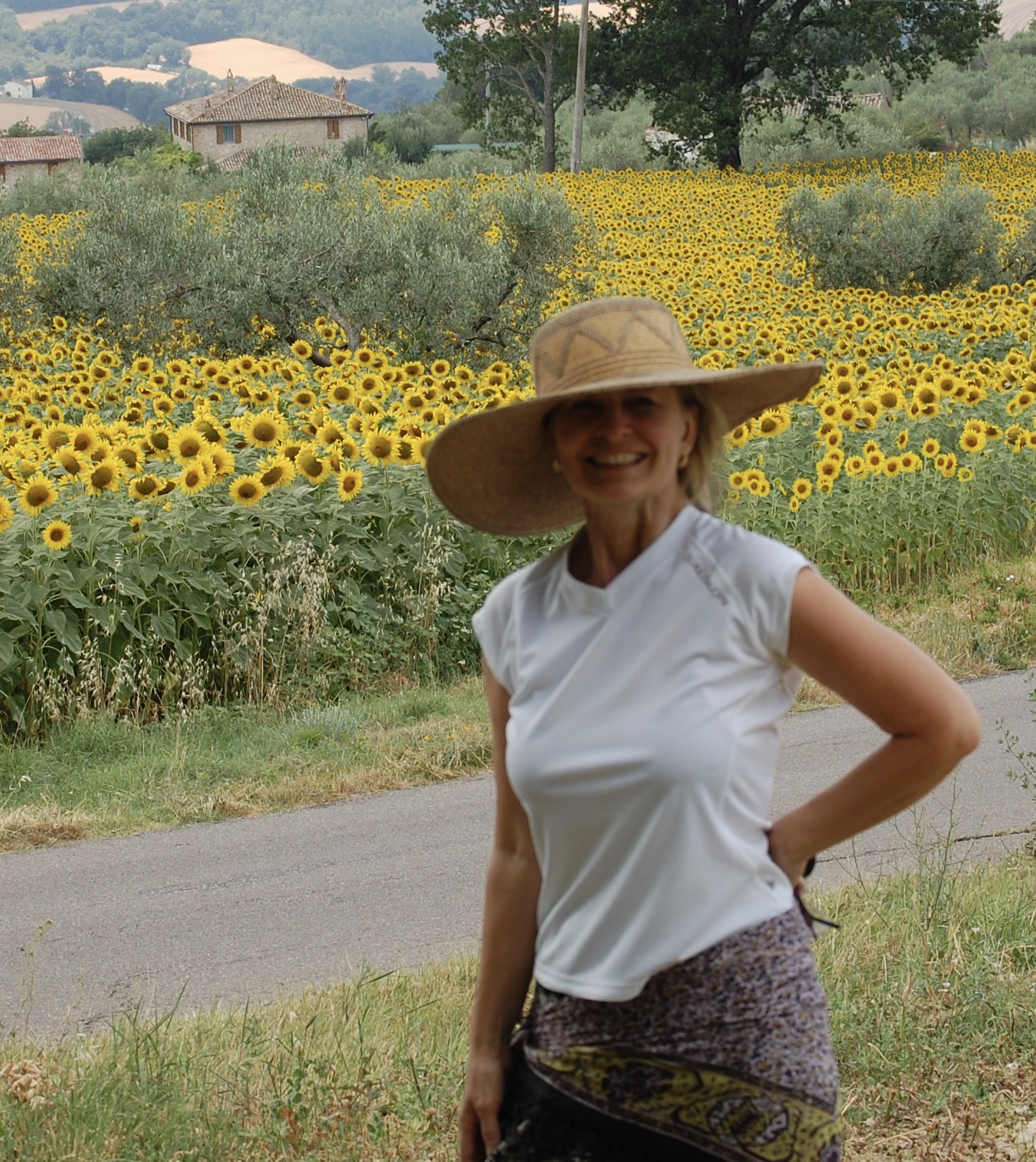 Come paint some of my favorite places in Italy. Fly into Florence or Rome and meet us in Cortona or choose to follow me to Italy and have a car waiting for you to arrive and take you to the villa with the group.
