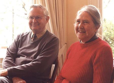 Emeriti Professors Richard and Mary Earle