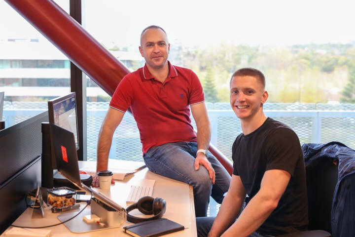 Termius co-founders Dmitry Lyfar (left) and Roman Kudiyarov.