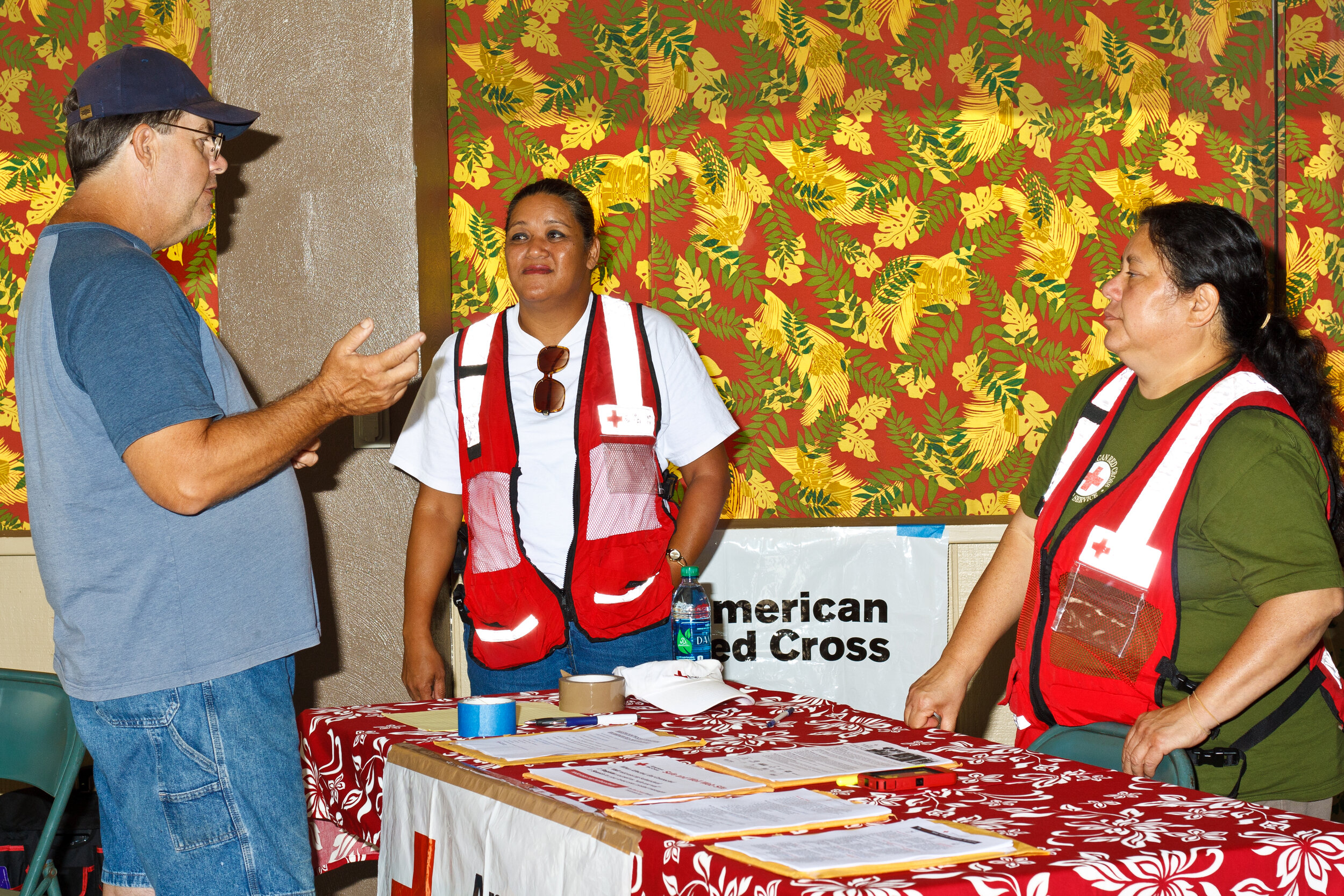 Support for the American Red Cross because they help so many at crucial times and natural disasters.