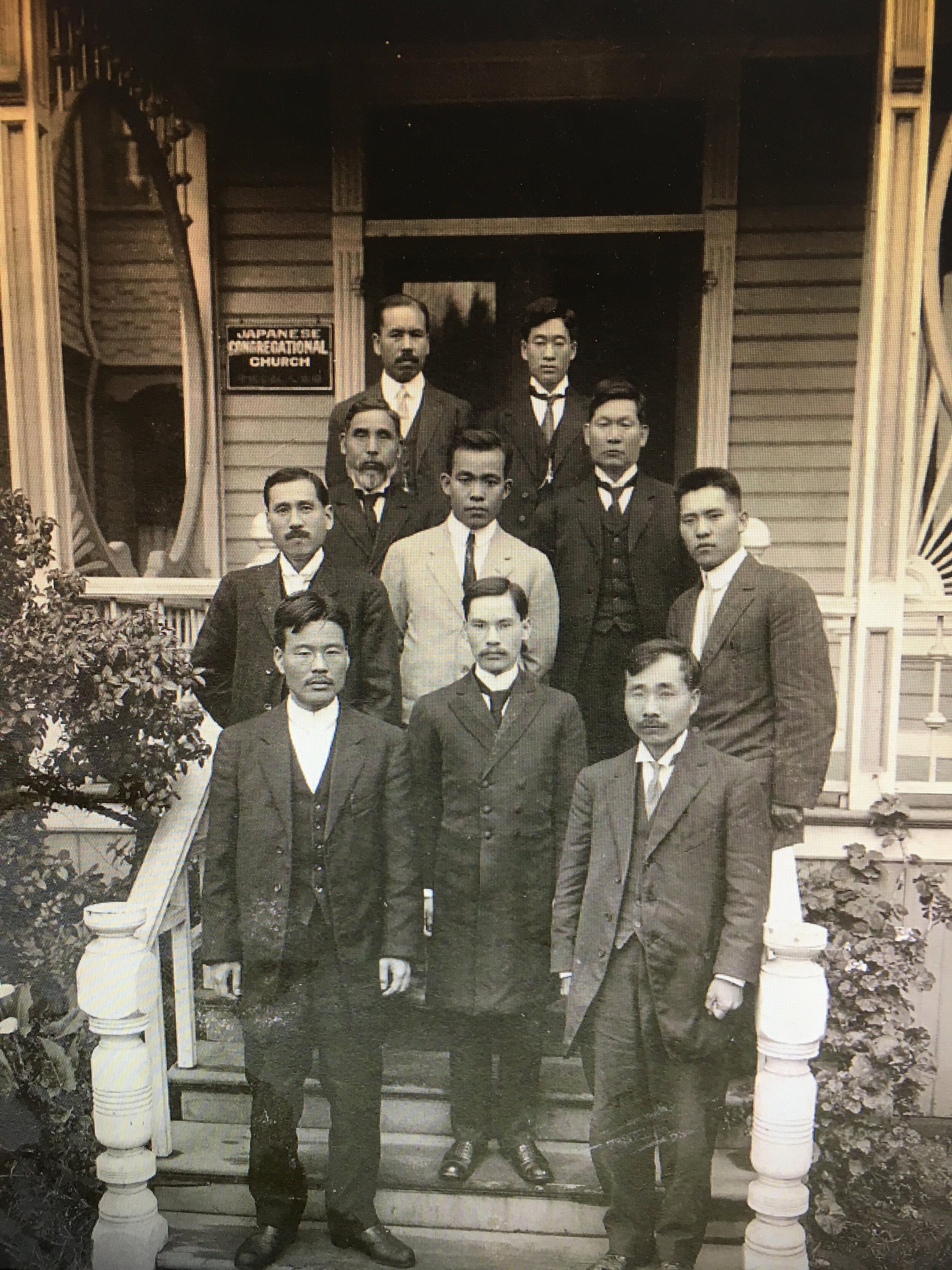 Original members of the Japanese Congregational Church in 1912, today known as Puna Covenant Church.