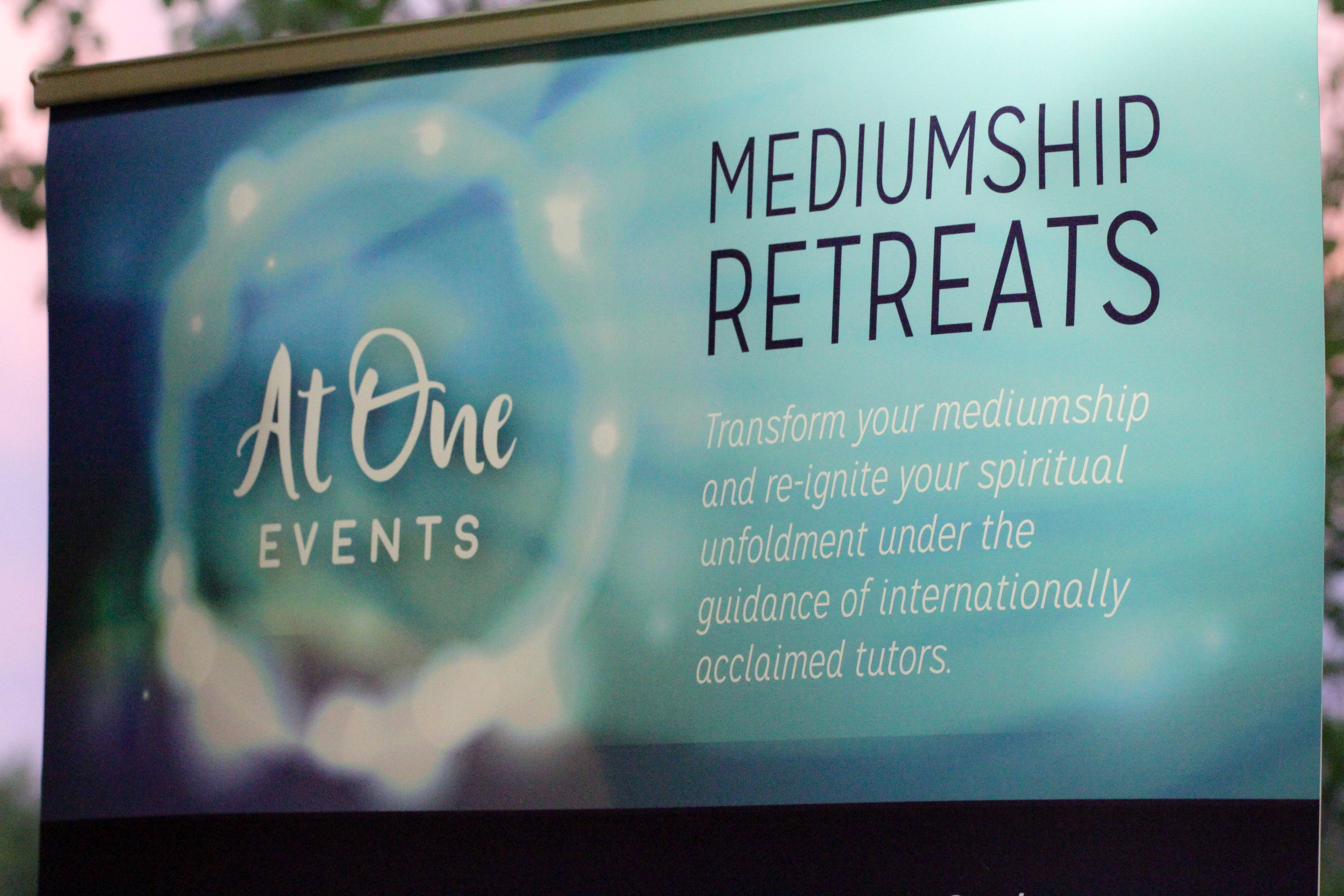 Event company focused on workshops & retreats supporting mediumship and Spiritual philosophy