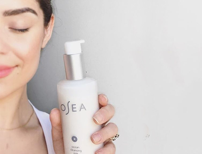 osea cleansing milk is available in shoppe for $44
