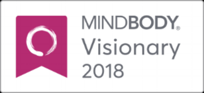 CONGRATULATIONS TO OUR TEAM FOR WINNING THE MINDBODY VISIONARY AWARD FOR 2018!