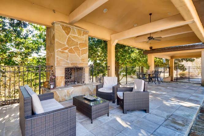 Outdoor Furniture & Alt Entrance