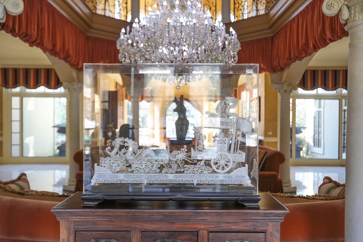 Statue in Foyer