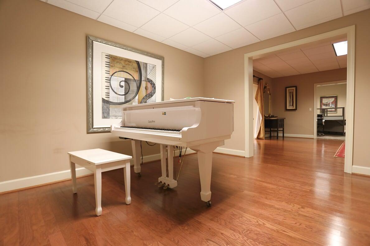 Basement Grand Piano