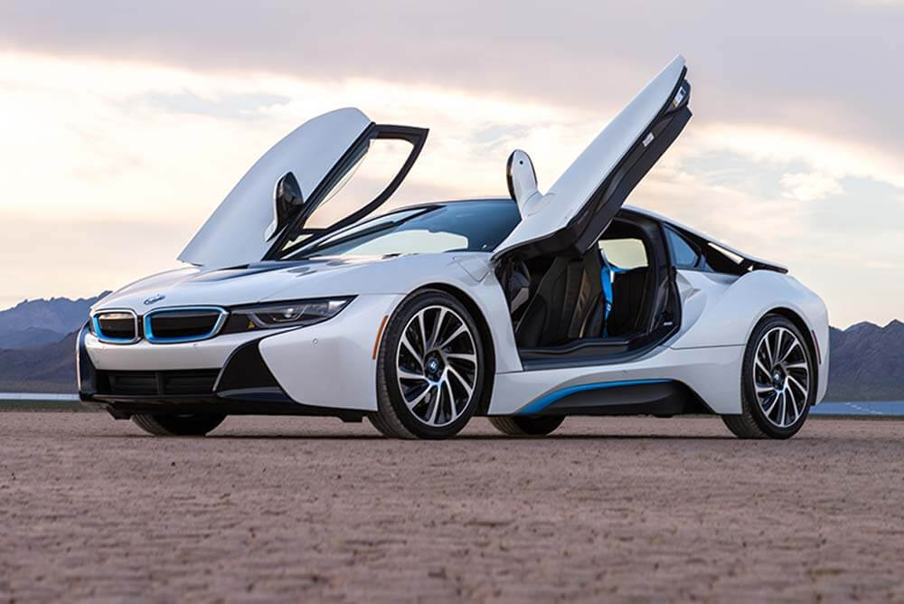 BMW I8 - Color | White