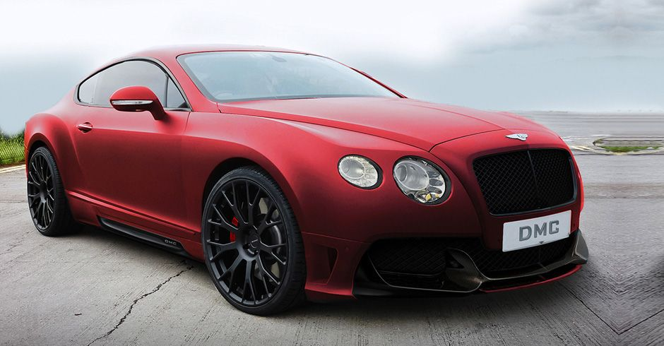 Bentley Continental GT Coupe - Color | Red