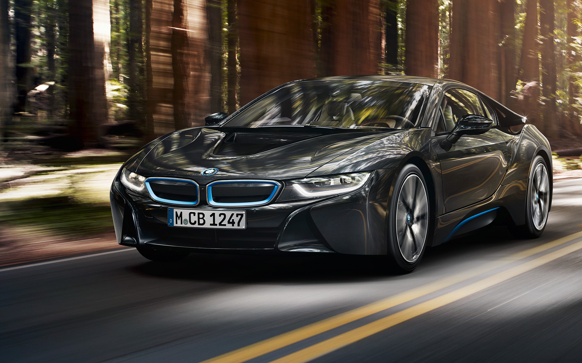 BMW I8 - Color | Dark Silver