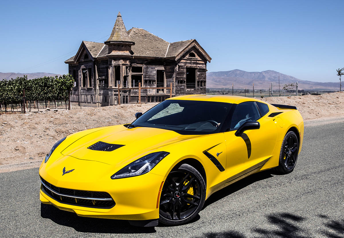 Corvette Stingray Convertible - Color | Yellow