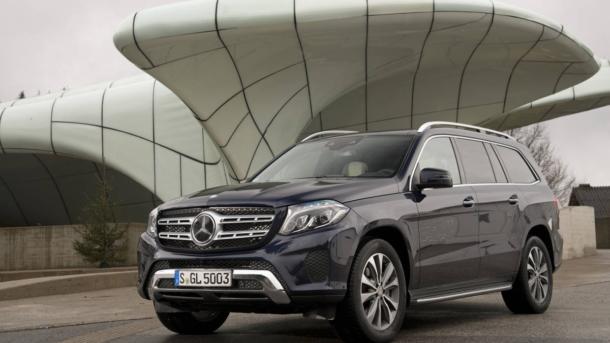 Mercedes Benz GL 450 - Color | Black