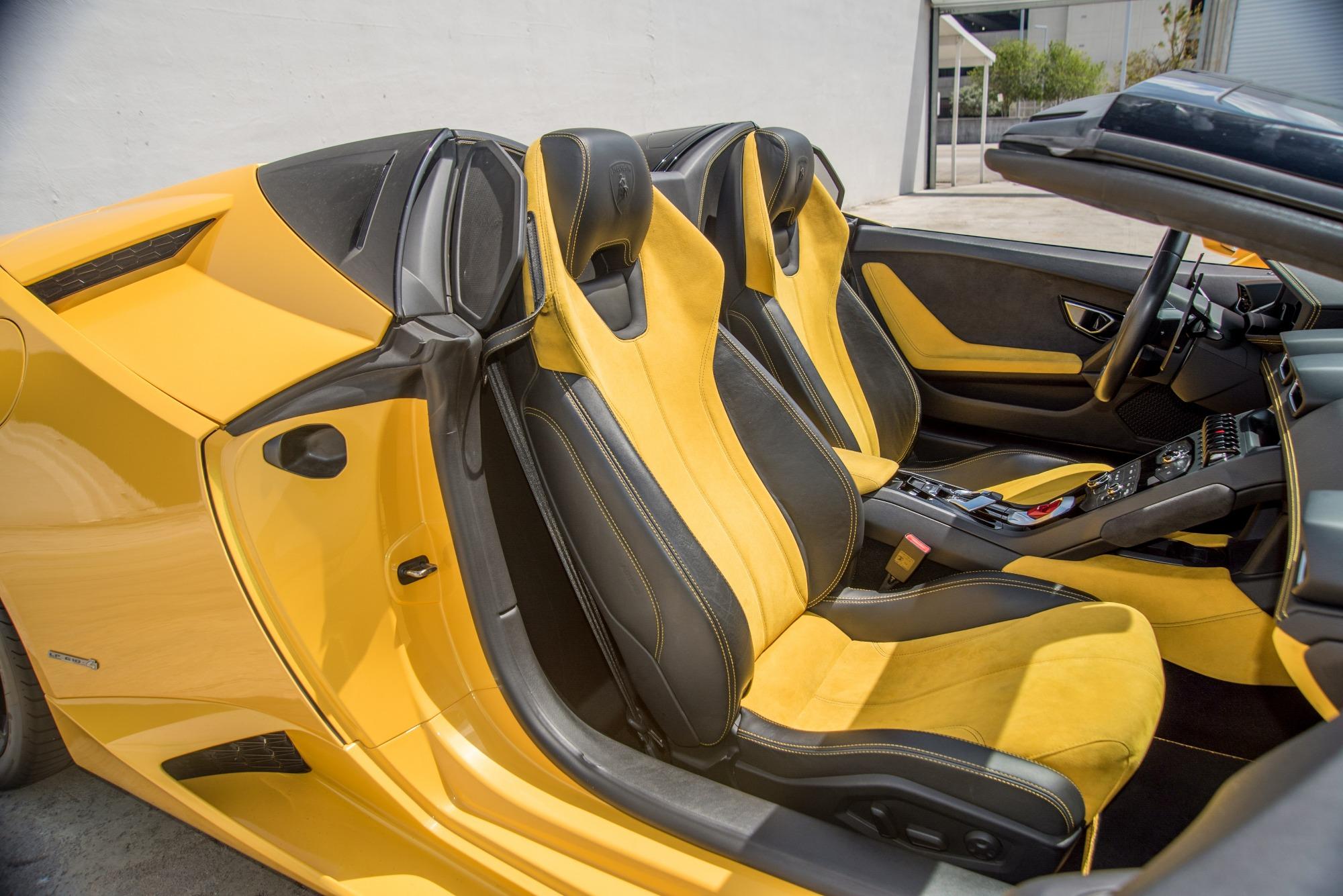 Lamborghini Aventador Huracan Yellow Book Luxe Xotiks