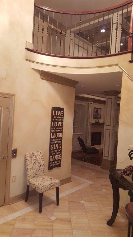 Elevator & Master Bedroom Entrance