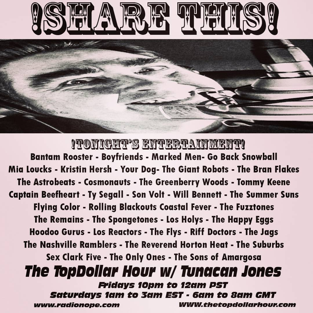 fhn :   In ONE HOUR!!! A BRAND NEW SHOW!  LATHER UP, GANG!!!!!  www.radionope.com   (at Spokane, Washington)