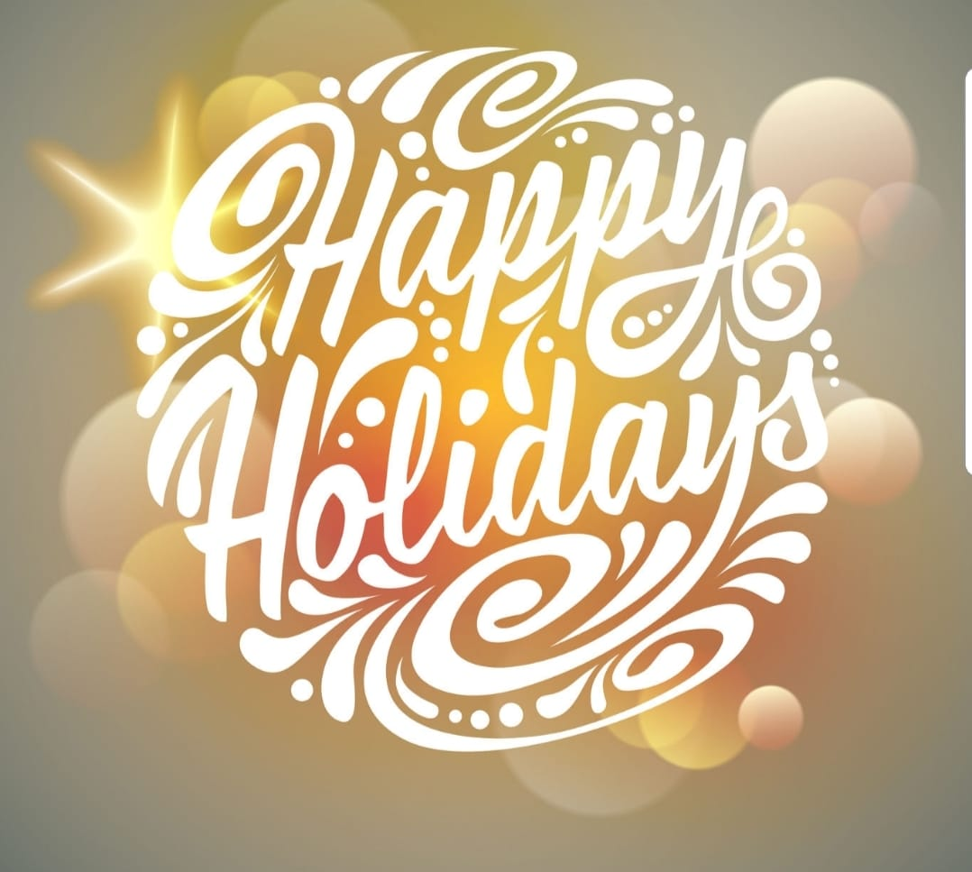 We wish you all a Happy Holiday, from our Aqua Team! -
