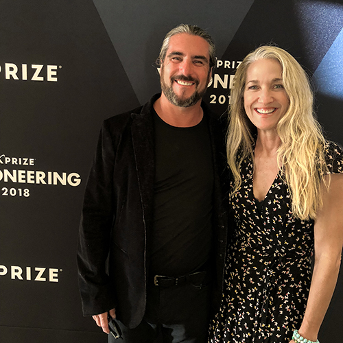 David & Laura Hertz , Founders, Skysource & XPRIZE 2018 Grand Prize Winners