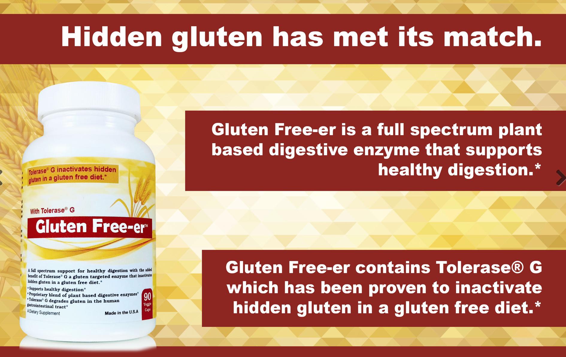 Gluten Free-er Gluten Supplement / Enzyme